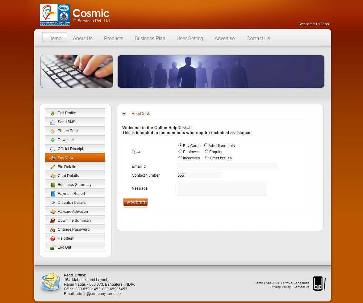 Cosmic IT Services | Training | Professional services | Products